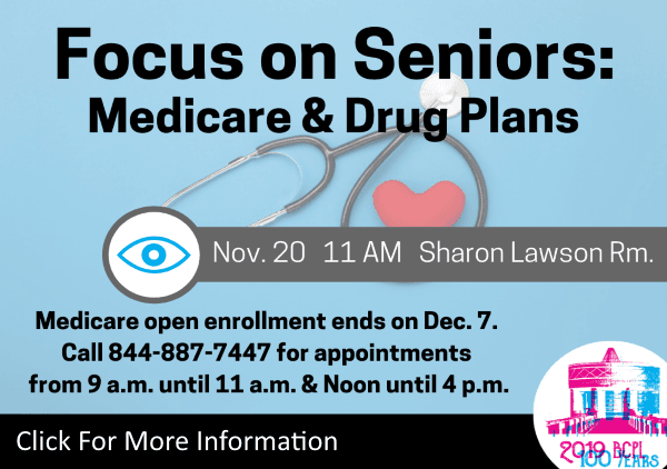 Medicare Drug Plans Nov 20 2019 (Feature)