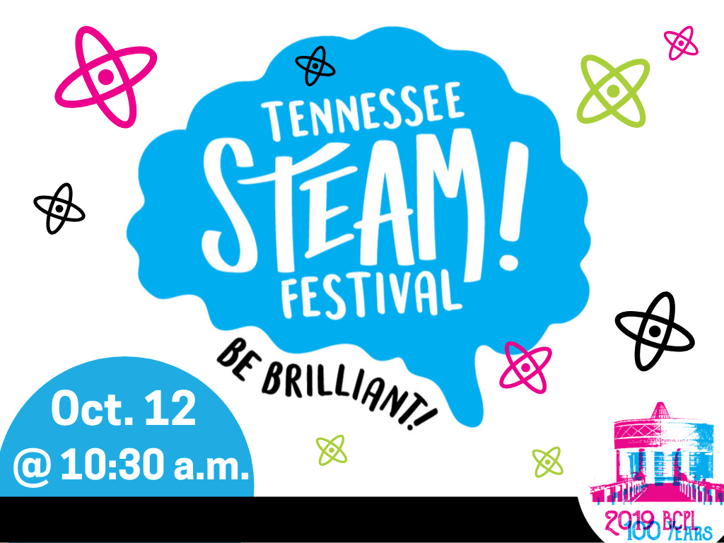 STEAM Festival October 12 2019 (Signage)