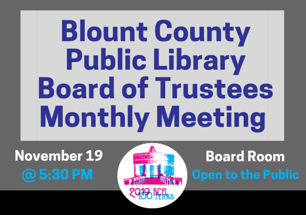 BCPL Board Monthly Nov 19 2019 (Feature)