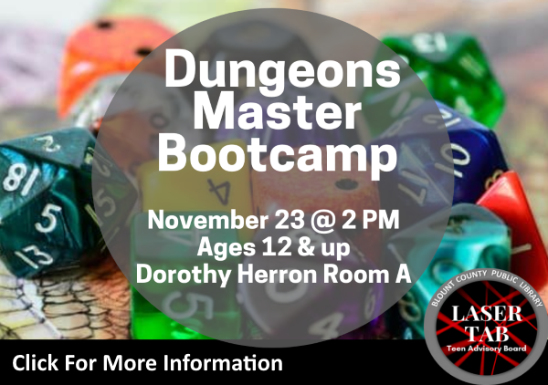 Dungeons Masters Bootcamp Nov 23 2019 (Feature)