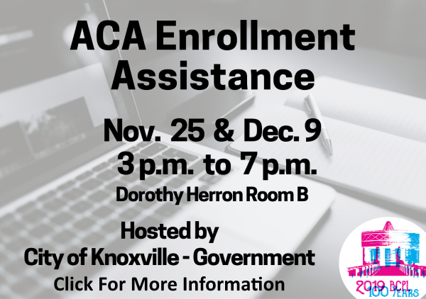 ACA Enrollment Assistance Nov 25 Dec 9 2019 (Feature)