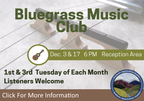 Bluegrass Music Club Dec 3 17 2019 (Feature)