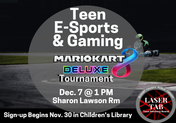 Teen Gaming Dec 7 2019 (Feature) Sign Up Nov 30