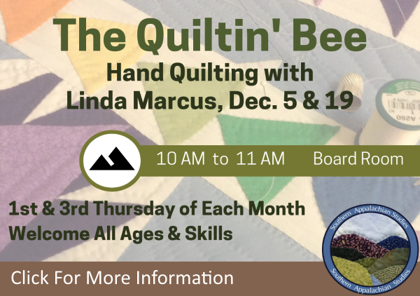 Quiltin Bee Dec 5 19 2019 (Feature)