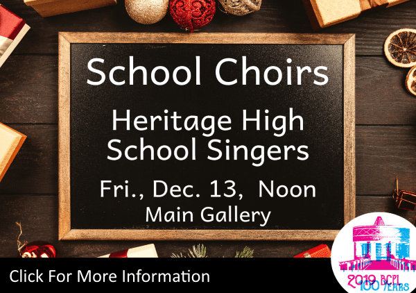 School Choirs Heritage High Singers Dec 13 2019 (Feature)