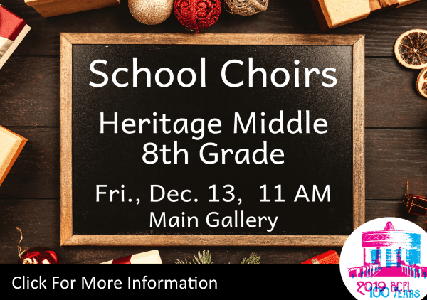 School Choirs Heritage Middle 8th Dec 13 2019 (Feature)