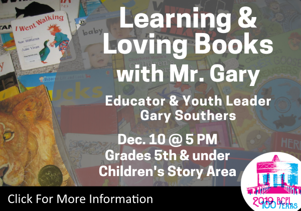 Learning and Loving Books Mr Gary Dec 10 2019 (Feature)