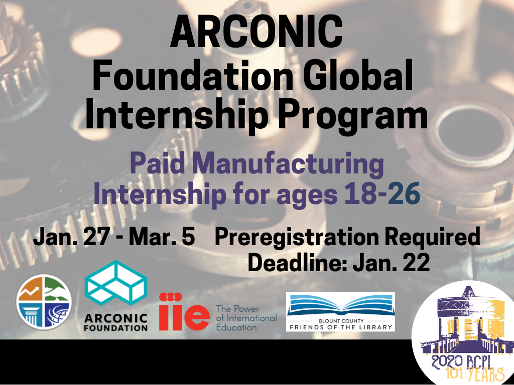 ARCONIC Internship Jan 27 to March 5 2020 (Signage)