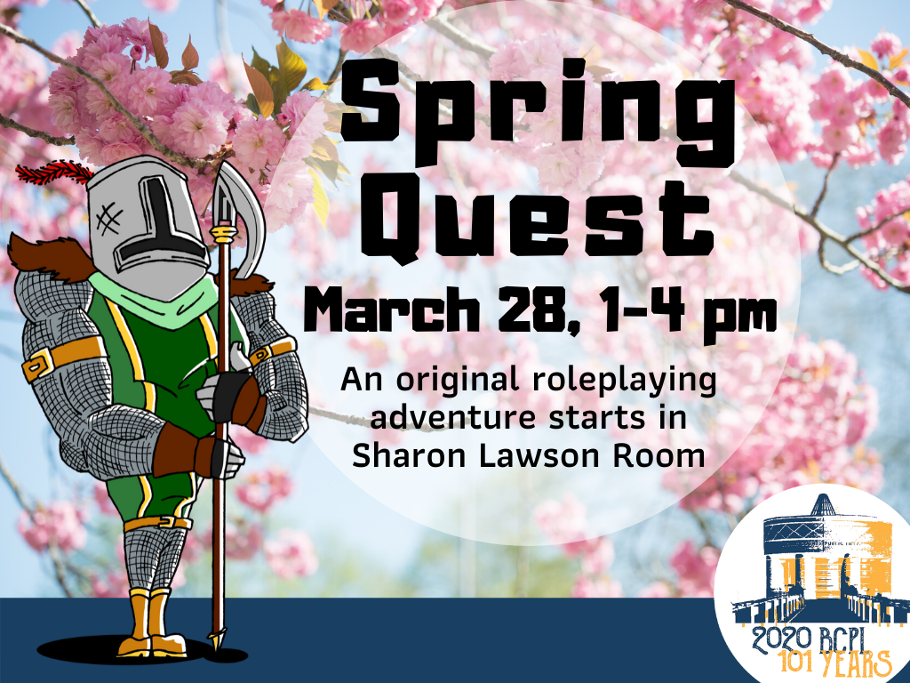 Spring Quest all ages Mar 28 2020 (Signage)