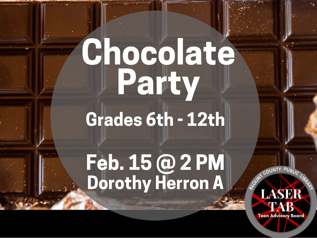 Chocolate Party Feb 15 2020 (Signage)