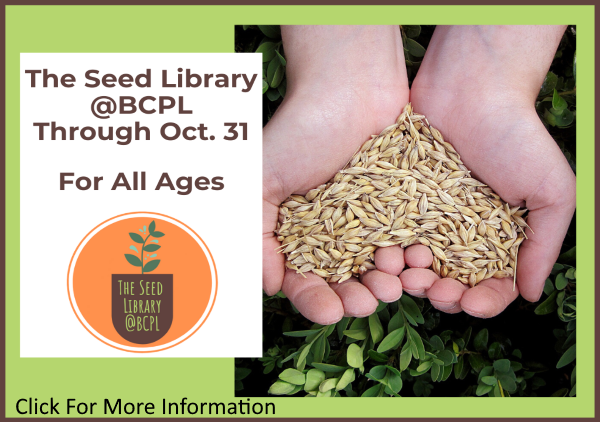Seed Library thru Oct 31 2020 (Feature)