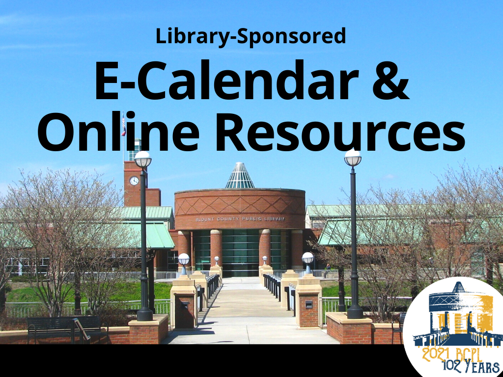 BCPL e-Calendar and Online Resources (Signage)