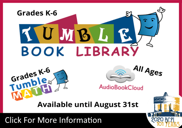 TumbleBookLibrary Kids Aug 31 2020 (Feature)