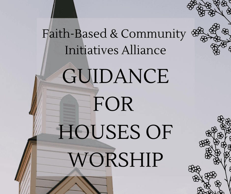 Houses of Worship Guidance