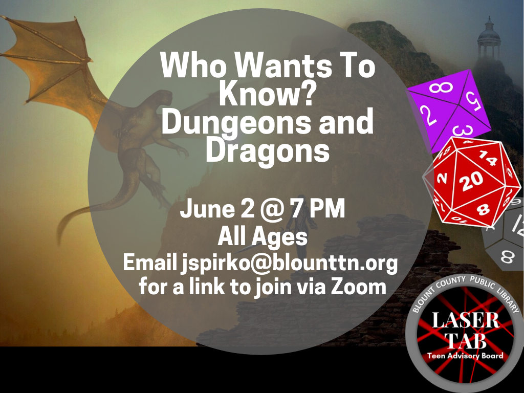 Dungeons and Dragons June 2 2020 (Signage)