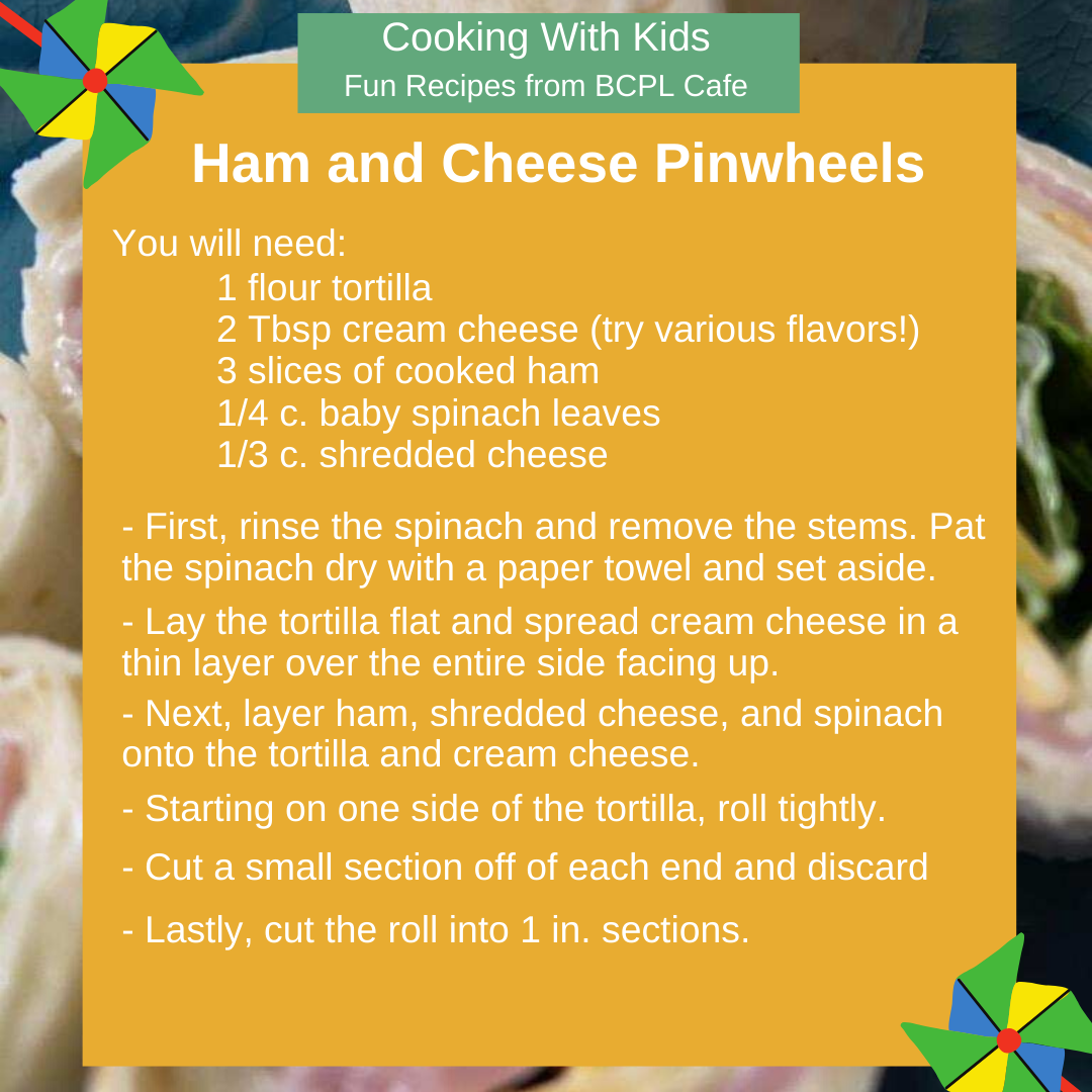 Ham and Cheese Pinwheels image