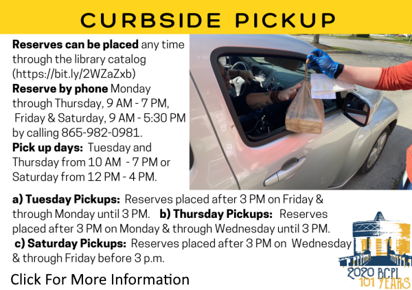 Curbside Pickup Service July 2020 (Feature)