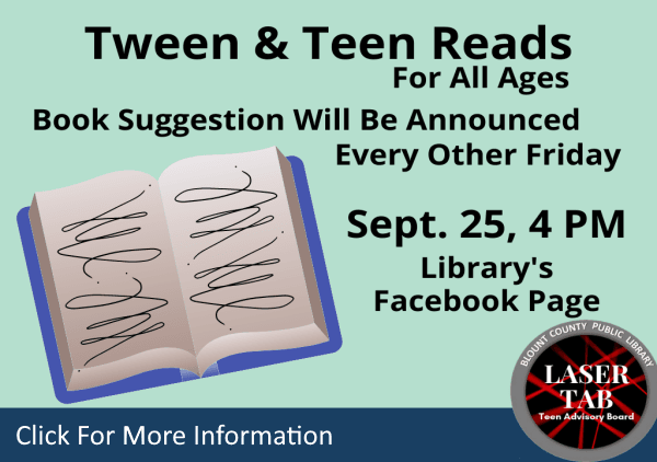 Tween Teen Reads Sept 25 2020 (Feature)
