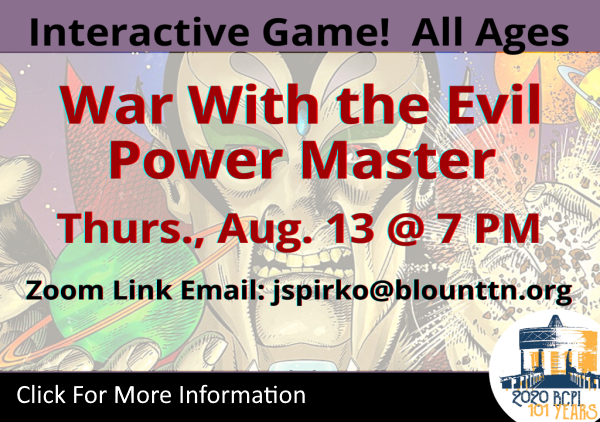 War with the Evil Power Master Aug 13 2020 (Feature)