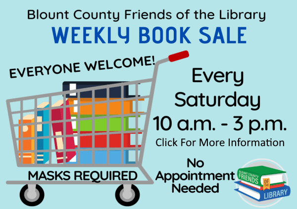 BCFOL Book Sale Wed Sat 2020 (Feature) 2