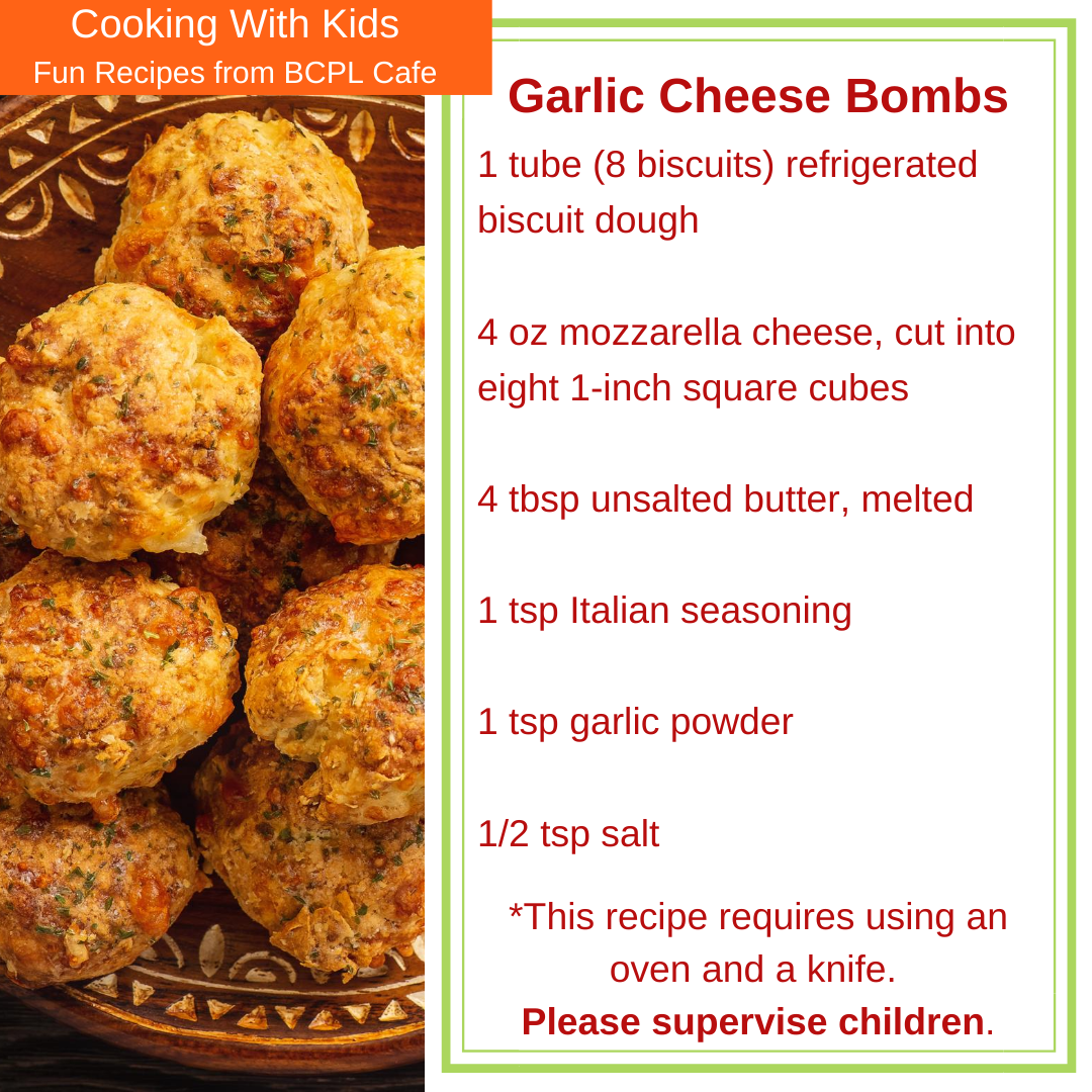 Garlic Cheese Bombs 1