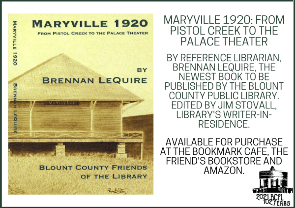 Maryville 1920 Book (Feature)