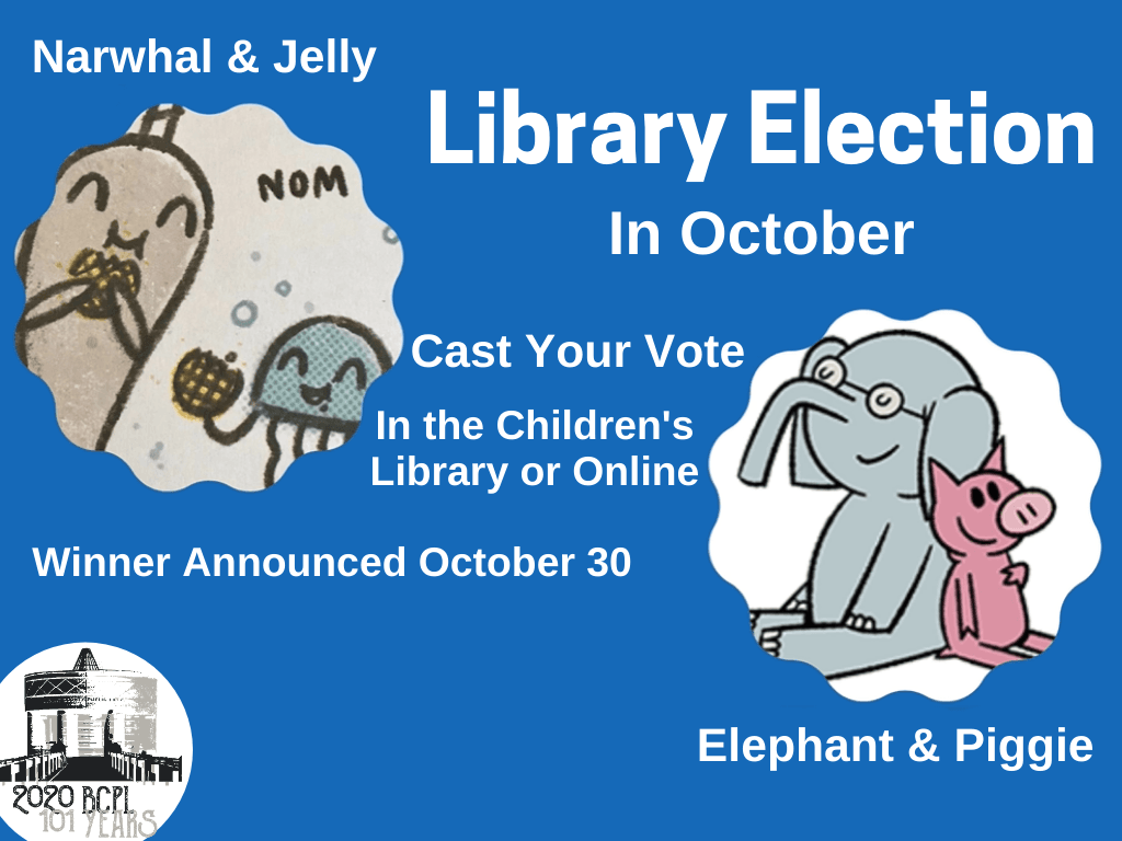 Library Election Oct 1-29 2020 (Signage)