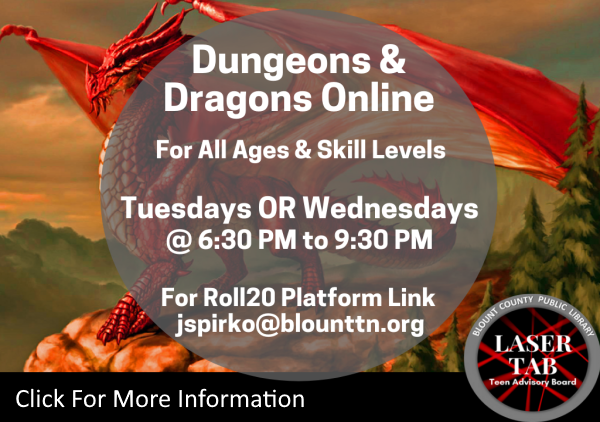 Dungeons Dragons Tues Wed 2020 (Feature)
