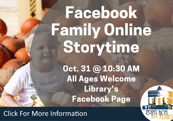Facebook Family Storytime Oct 31 2020 (Feature)