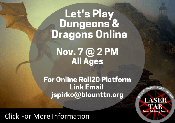 Lets Play Dungeons Dragons Nov 7 2020 (Feature)