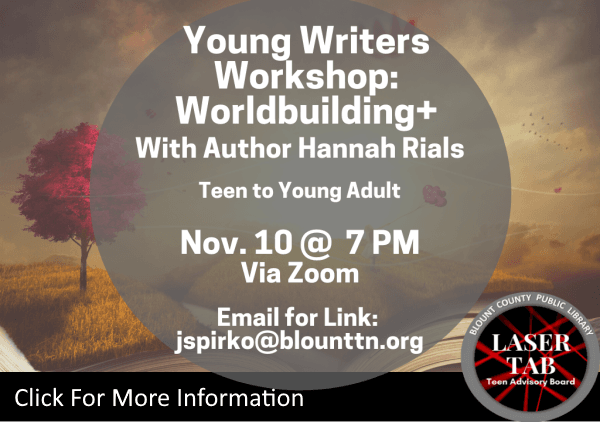Young Writers Workshop Nov 10 2020 (Feature)