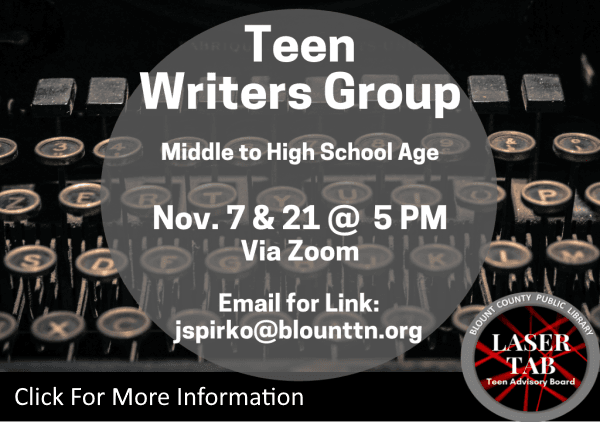 Teen Writers Group Nov 7 21 2020 (Feature)