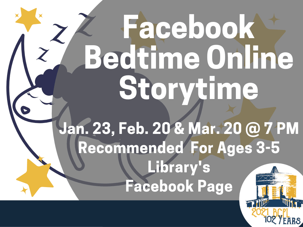 Bedtime Online Storytime Jan 23 2021 (Feature)