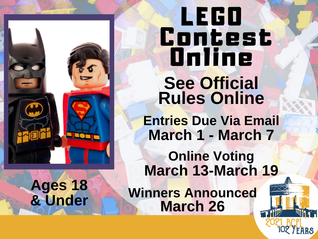 LEGO Contest Online Mar 1-7 2021 (Signage)