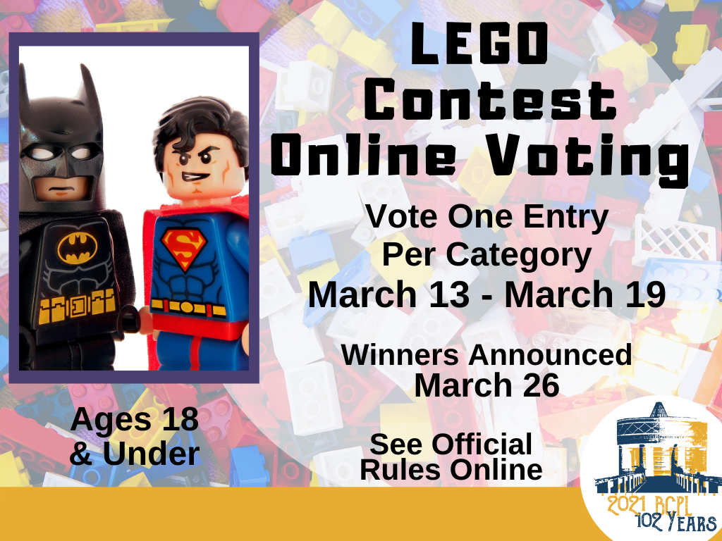 LEGO Contest Online Voting Mar 13-19 2021 (Signage)