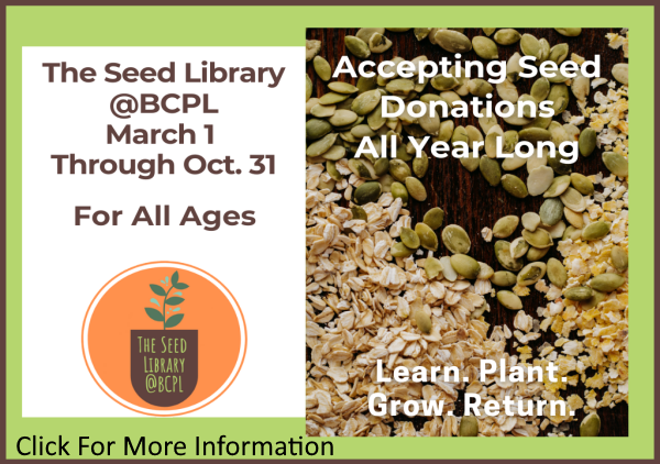 Seed Library Mar-Oct 2021 (Feature)