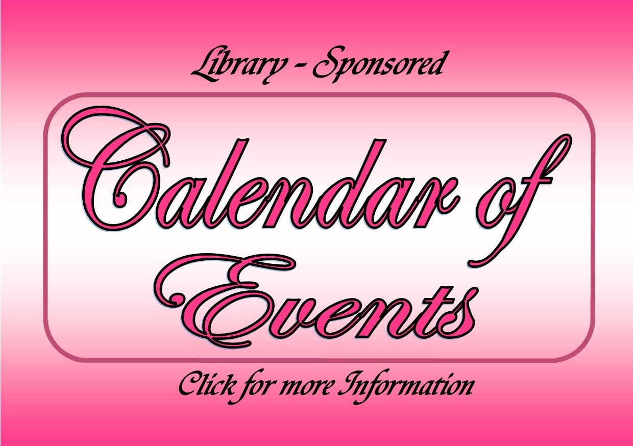 Calendar of Events August 2017 (Feature) webpage