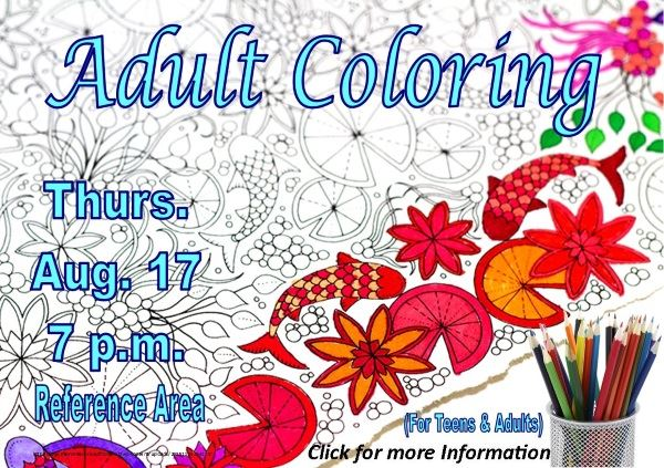 Adult Coloring - August 17 2017 (Feature)
