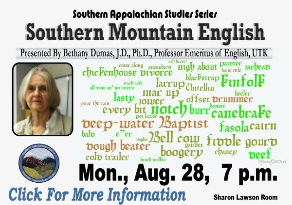 Southern Mountain English - August 28 (Feature)