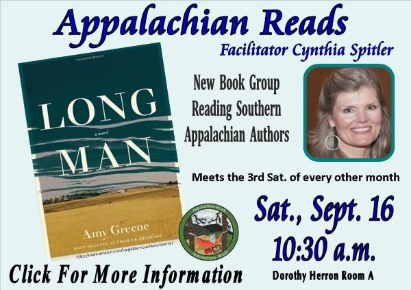 Appalachian Reads - September 16 2017 (Feature)
