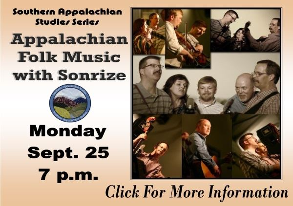 Appalachian Folk Music with Sonrize - Sept 25 2017 (Feature)