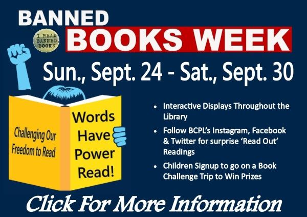Banned Book Week - Sept. 24 2017 (Feature)