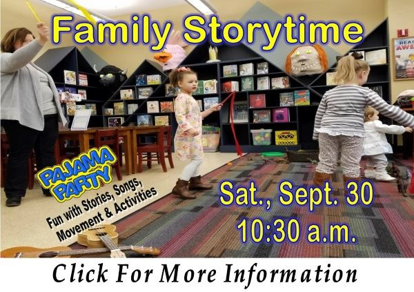 Family Storytime  Sat Sept 30 2017 (Feature)