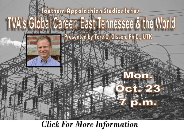 TVA Global Career East Tn and the World - Oct 23 2017 (Feature)