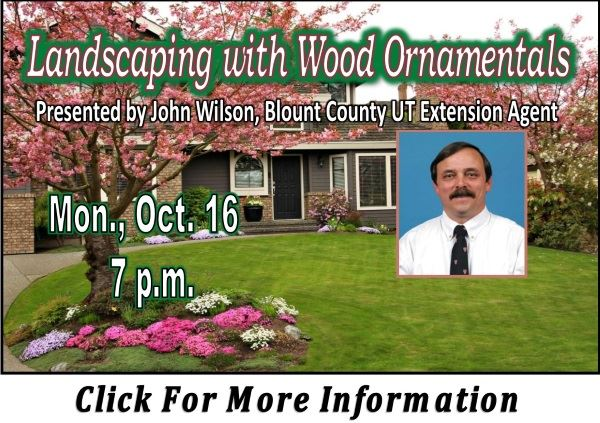Landscaping with Wood Ornamentals Oct 16 2017 (Feature)