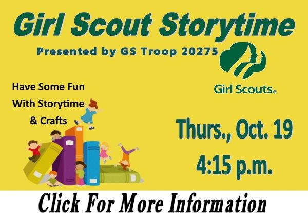 Girl Scout Storytime 10-19-2017 (Feature)