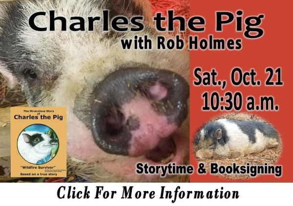 Charles the Pig 10-21-2017 (Feature)