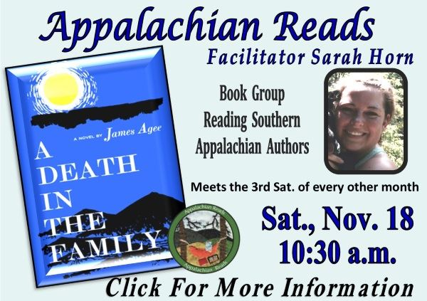 Appalachian Reads - November 18  2017 (Feature)