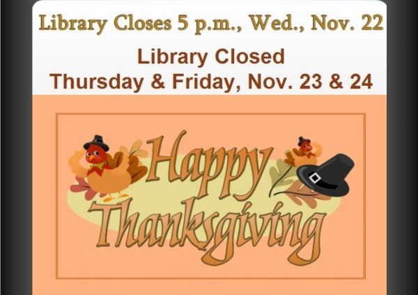 Thanksgiving Holiday Closed (Feature)