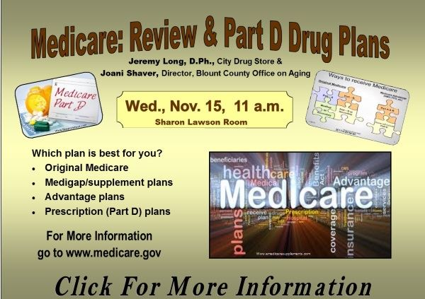 Medicare Review  Part D Drug Plans - November 15 2017 (Feature)